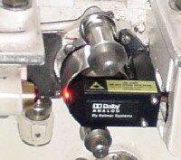 Optical audio pickup
