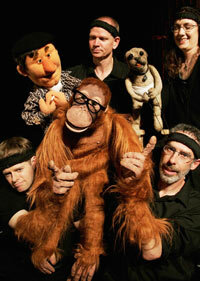 """The cast of """"Puppet Up! Uncensored"""" in Sydney, Australia"""