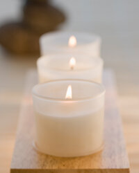 Candles can bring light -- or a little romance -- into a room.