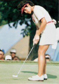 Nancy Lopez joined the LPGA Tour in 1977 and won 17 of the first 50 tournaments she played. See more pictures of golfers.
