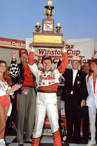 Alan Kulwicki won the 1992 NASCAR championship on a $2 million budget.