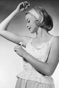 The early days of deodorant advertising convinced the masses that we shouldn't stink. See more personal hygiene pictures.