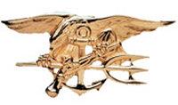 SEAL Trident pin