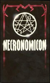 "The Simon hoax edition of the ""Necronomicon"" contains Sumerian mythology and a mishmash of occult rituals."