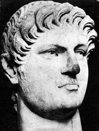 A bust of Emperor Nero, circa 65 A.D.