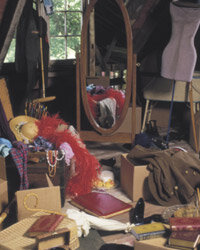 An attic is a good place for storing many things but not your photos.