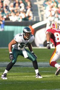 Eagles linebacker Carlos Emmons