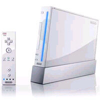Nintendo Wii console and controller. See more