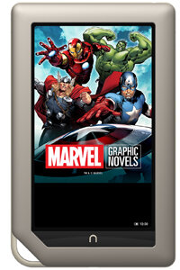 Comic book fans may love the Nook Tablet's ZoomView feature.