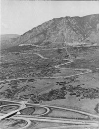 Cheyenne Mountain, site of the NORAD control center