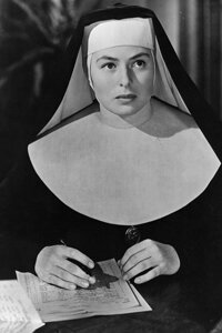 """Image Gallery: Making Movies Ingrid Bergman played a nun in the 1945 film """"The Bells of St. Mary's."""" See more pictures of making movies."""