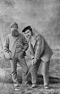 Tom Morris Sr. and Tom Morris Jr. were a famous father-son golf duo. See more pictures of the best golfers.