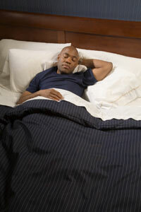 People with orthopnea often find that it's easier to sleep with a few pillows.