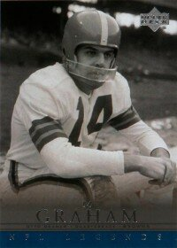 Otto Graham possessed great                               precision and an uncanny                                            ability to win. See more                                            pictures of football players.