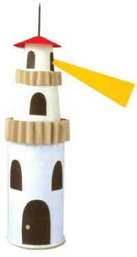 The Paper Lighthouse paper craft. See more pictures of lighthouses.