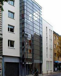 Architect Andreas Thomsen's passive house building complex in Hamburg.