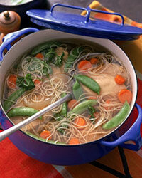 Chicken noodle soup is one of the world's great comfort foods.