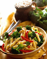 Pasta primavera is light, healthy and can really do wonders for your mouth.