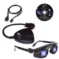 E-Dimensional Wireless E-D Glasses Components