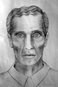 Facial composite of the man suspected of kidnapping Elizabeth Smart in 2003.