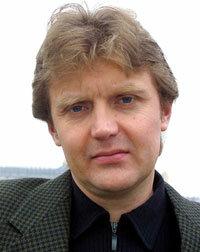 Former KGB spy Alexander Litvinenko at his home in London in 2002
