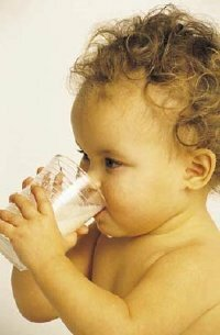 From birth to about six months, your baby will only be able to consume liquids.