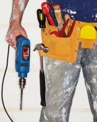 Power drills have a variety of uses. See more pictures of power tools.
