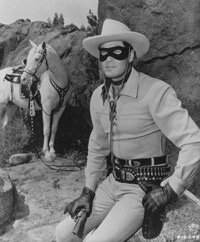 "The serial drama ""The Lone Ranger"" became a TV show in 1949."