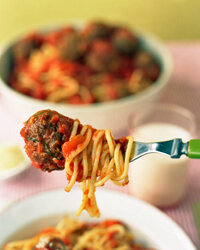 Spaghetti is just one option to quickly please your guests.
