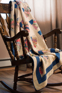 Fabric from old clothes can be repurposed into a treasured family heirloom -- a quilt.