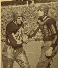 "Harold ""Red"" Grange boosted the time sport. See more pictures of famous football players."