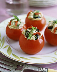 If the taste of green bell peppers does nothing for you, try replacing them with tomatoes.