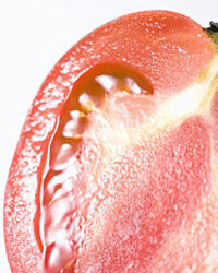 They're part of the same family, so it shouldn't surprise you to find that you can replace many fruits with tomatoes.