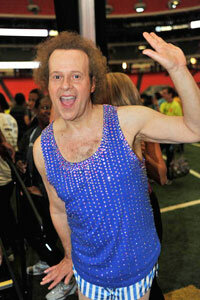 Richard Simmons attends the 2010 World Fitness Day in Atlanta. See more weight loss tips pictures.