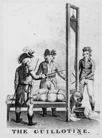Royal misbehavior was punished harshly during the French Revolution.