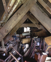 Assuming your attic doesn't look like this, you could have your home's envelope sealed with a weekend's work.