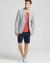 Seersucker jackets can be dressed up or down, and look great with jeans, khakis and even shorts.
