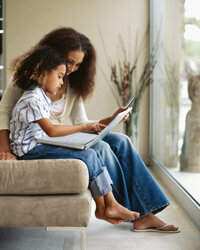 If your kid is picky about colors, patterns or cuts, get them in on the online shopping process. See more parenting pictures.