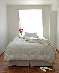 Add all the bedding you want to your registry, and make it luxurious.