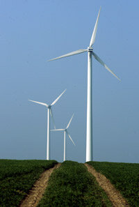 The Sierra Club encourages the use of alternative energy