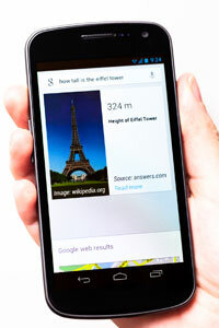 Google Voice Search – which can do much more than tell you the dimensions of the Eiffel Tower – is hoping to give Apple's Siri a run for its money.
