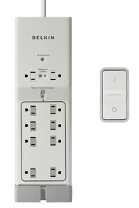 Belkin's Conserve power strip has a remote control.