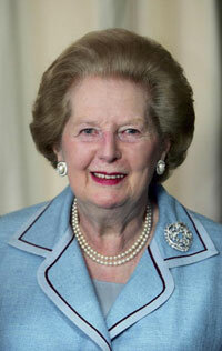 Margaret Thatcher, Britain's first female prime minister