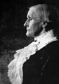 Susan B. Anthony embraced socialist ideals