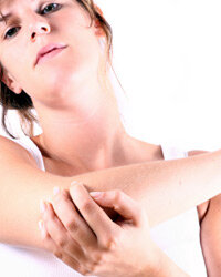 How can you get rid of some of that scaly buildup on your elbows? See more pictures of ways to get beautiful skin.