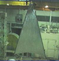 One solar-sail blade