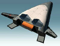 The X-33 space plane may be used for military combat in space.