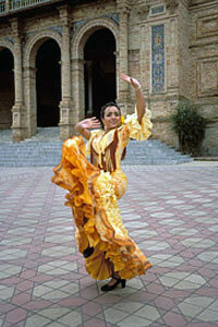 Today, most people refer to Andalusian dress as flamenco, and this traditional clothing is still popular.