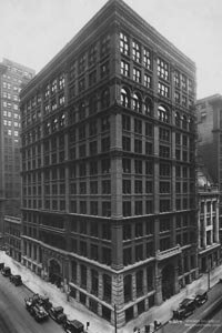 Chicago's Home Insurance Building as it stood circa 1926. Sadly, it was demolished in 1931. See more skyscraper pictures.