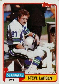Steve Largent had the surest                              hands in the league. See more                                            pictures of football players.